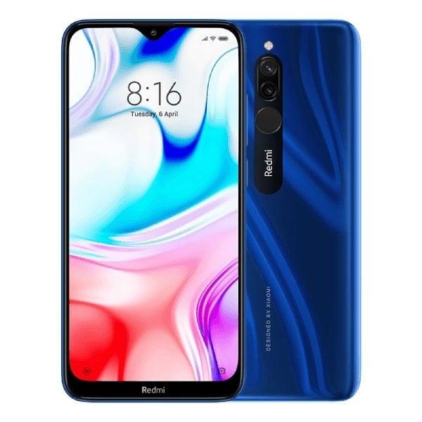 redmi 8 azul saphire min 600x600 - XIAOMI REDMI 8 64 GB + 4 GB