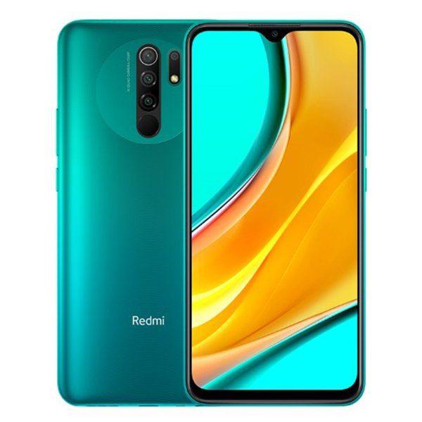 Redmi 9 verde 600x600 - XIAOMI REDMI 9 32 GB + 3 GB